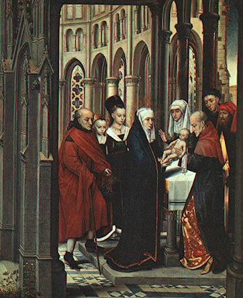 The Presentation in the Temple by Hans Memling