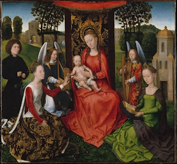 Mystic Marriage of St. Catherine by Hans Memling