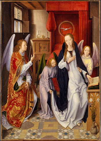 The Annunciation by Hans Memling