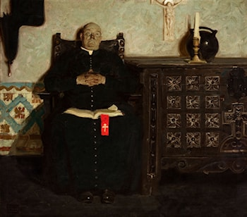 Priest by Dean Cornwell