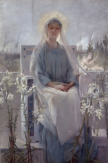 Meditation of the Holy Virgin by Sarah Paxton Ball Dodson