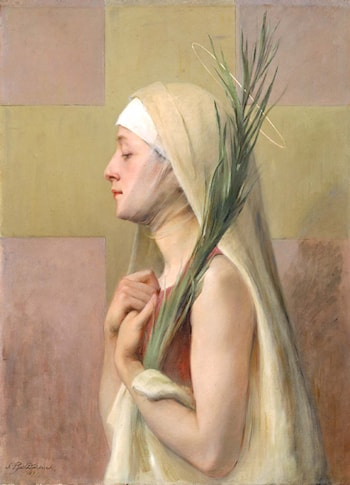 Un Martyre (Saint Thechia) by Sarah Paxton Ball Dodson