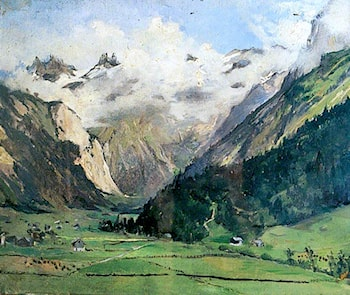 Engelberg, Switzerland by Sarah Paxton Ball Dodson