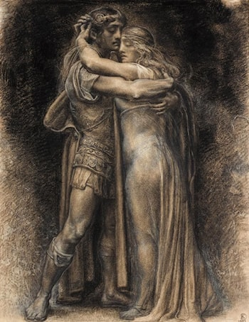 Sigmonde and Sieglinde by Regelio de Egusquiza