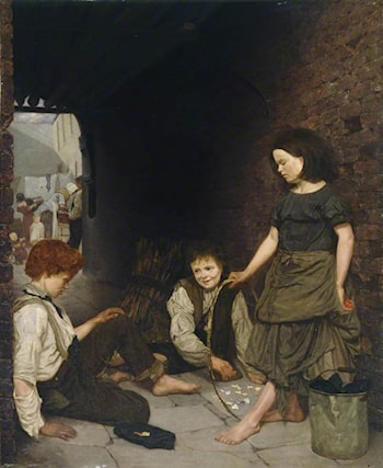 Manchester and Salford Children by Thomas Armstrong