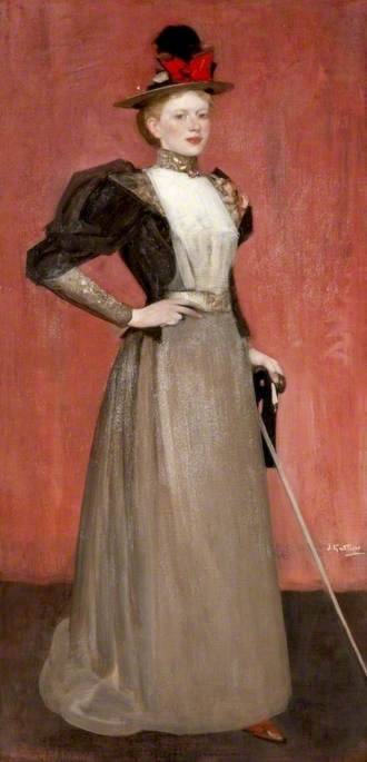 Maggie Hamilton (Mrs A. N. Paterson) (1867–1952) by James Guthrie
