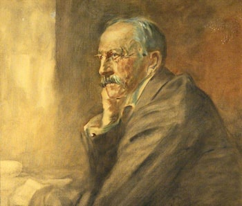 Alfred (1854–1925), Viscount Milner, KG, Rhodes Trustee (1902–1925), Chairman of the Trust (from 1917) by James Guthrie