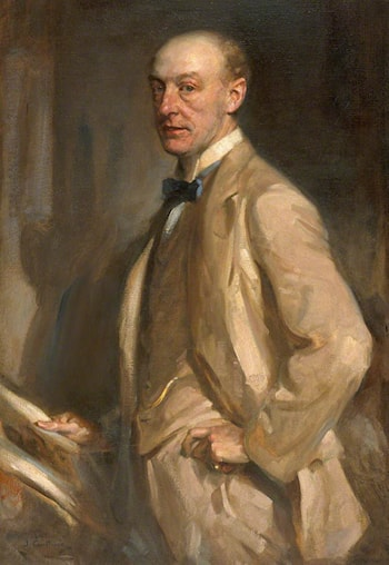 Archibald Stodart Walker (1870–1934), MA, MB, MBE by James Guthrie