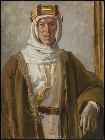 Colonel T.E. Lawrence by Augustus John