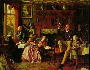 The Last Day in the Old Home by Robert Braithwaite Martineau