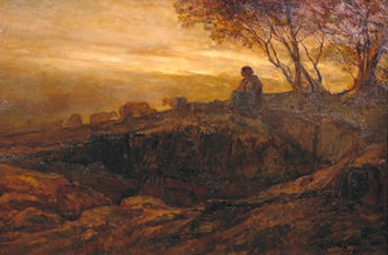 Evening Quiet by Thomas Hope McLachlan