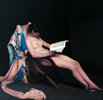 The Reading Girl by Théodore Roussel