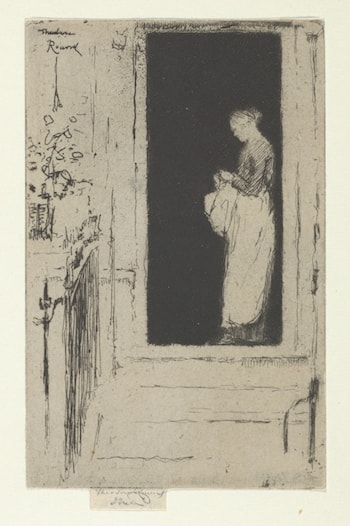 Penelope, A Doorway, Chelsea by Théodore Roussel