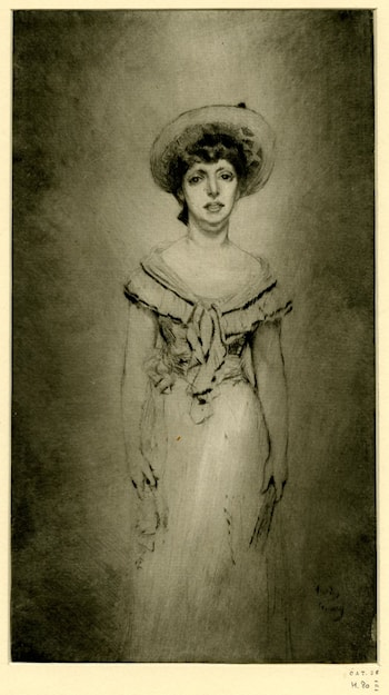 Portrait of Miss Hetty Pettigrew by Théodore Roussel