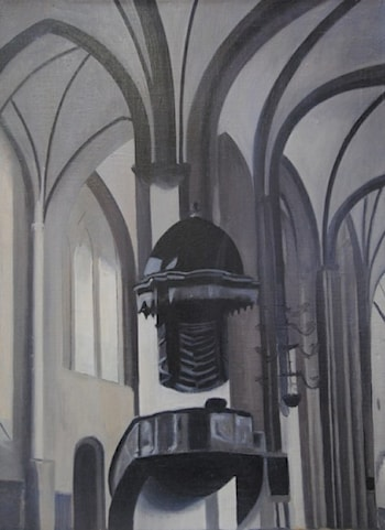 Cathedral's Interior by Johan Krouthén