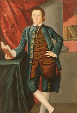 Boy of the Crossfield Family (possibly Richard Crossfield) by John Durand