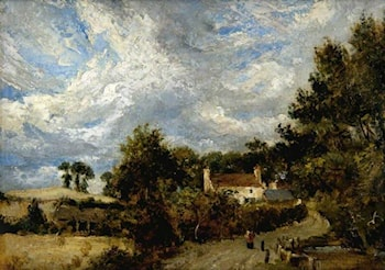 House by the Road by John Constable