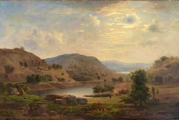 Valley Pasture by Robert Duncanson