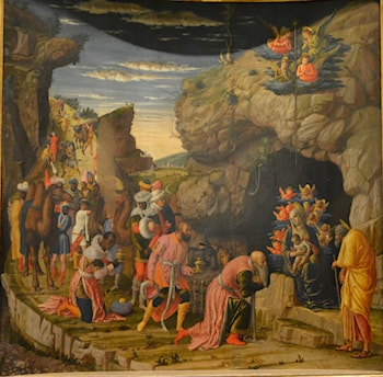 The Adoration of the Magi by Andrea Mantegna