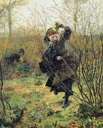 Spring by Frederick Walker