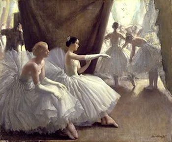 Ballet by Laura Knight