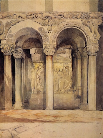 The Pulpit in the Church of S. Ambrogio by John Ruskin