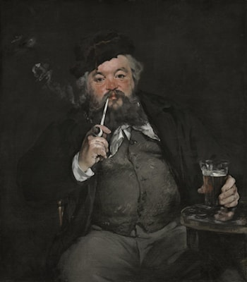A Good Beer by Edouard Manet