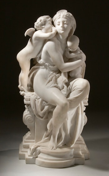 Between Two Loves by Albert-Ernest Carrier-Belleuse