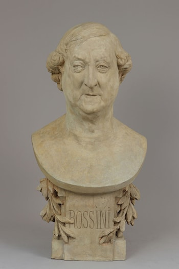 Gioachino Rossini (1792–1868) by Albert-Ernest Carrier-Belleuse