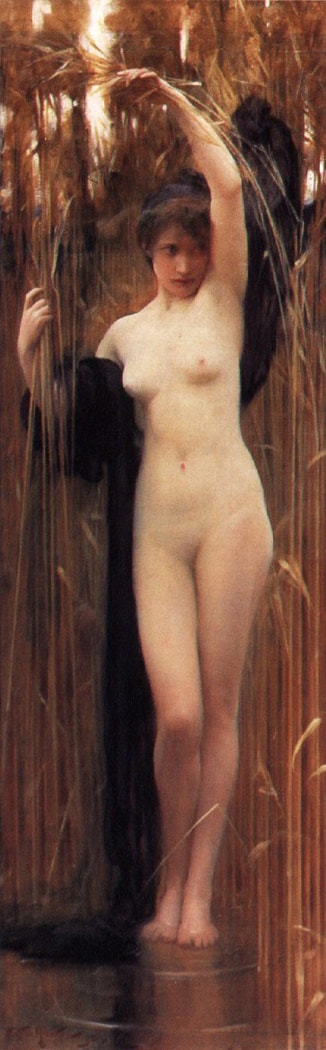 The Sryinx by Arthur Hacker