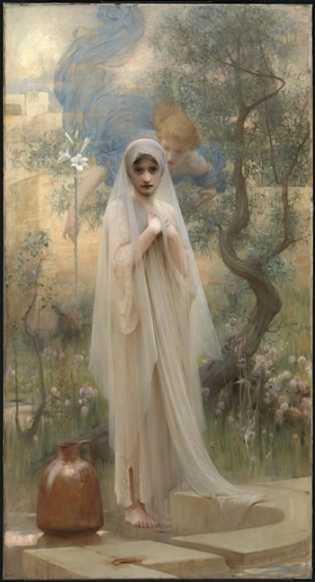 The Annunciation by Arthur Hacker