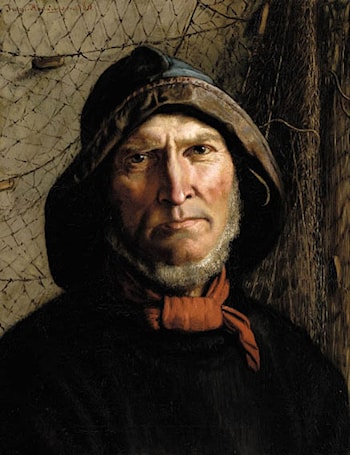 Fisherman with Red Kerchief