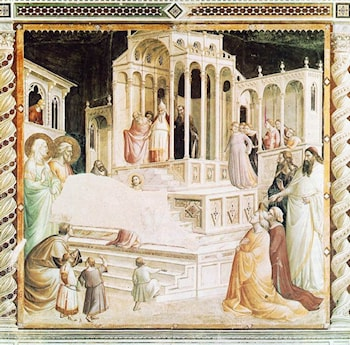 Presentation of Mary in the Temple by Taddeo Gaddi