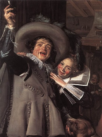 Jonker Ramp and his Sweetheart by Frans Hals