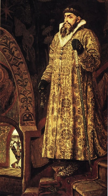 Tsar Ivan the Terrible by Victor Michailovitch Vasnetsov