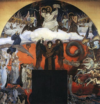 Judgement Day by Victor Michailovitch Vasnetsov