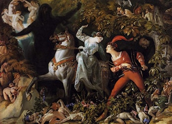 A Scene from 'Undine' by Daniel Maclise
