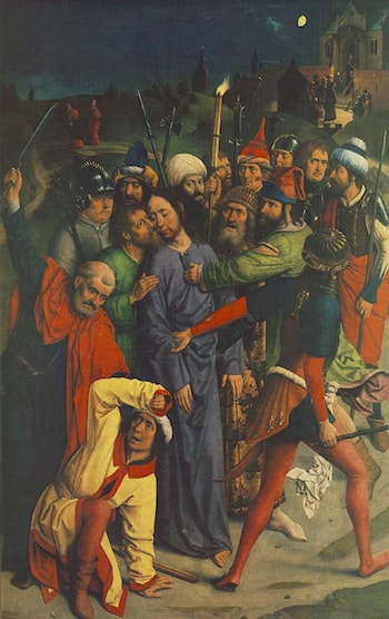 The Capture of Christ by Dirck Bouts