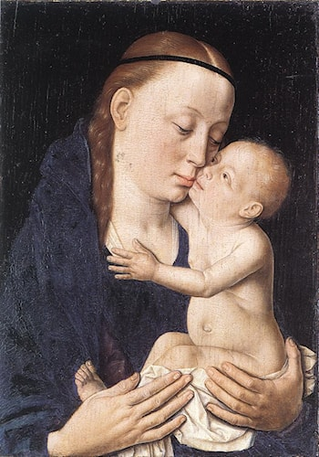 Virgin and Child by Dirck Bouts