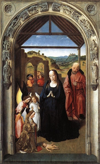 Nativity by Dirck Bouts