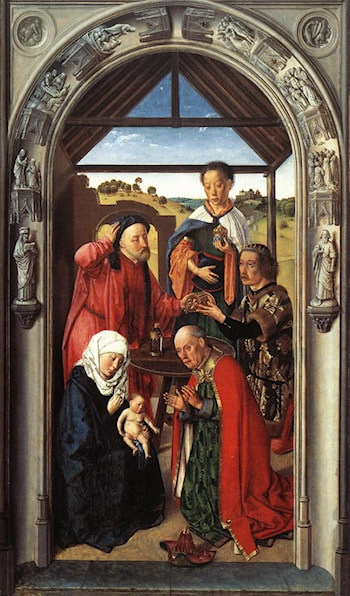 Adoration of the Magi by Dirck Bouts