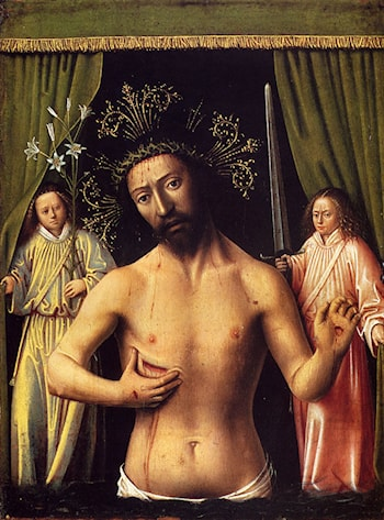 The Man Of Sorrows by Petrus Christus