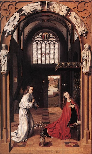 Annunciation by Petrus Christus