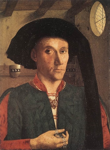 Portrait of Edward Grimston by Petrus Christus