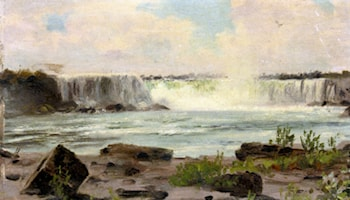 Niagra Falls by Henry William Banks Davis