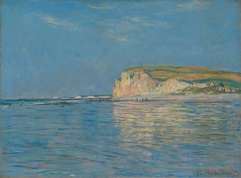 Low Tide at Pourville, near Dieppe, 1882 by Claude Monet