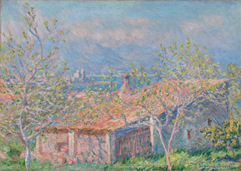 Gardener's House at Antibes by Claude Monet