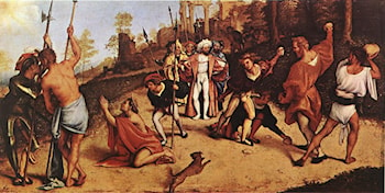 The Martyrdom of St Stephen by Lorenzo Lotto