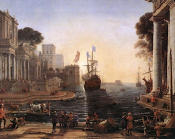 Ulysses Returns Chryseis to her Father by Claude Lorrain