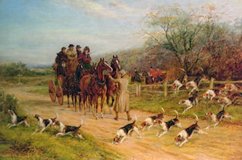 Hounds First, Gentlemen, Hounds First by Heywood Hardy